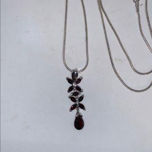 Jewelry - Garnet Necklace
